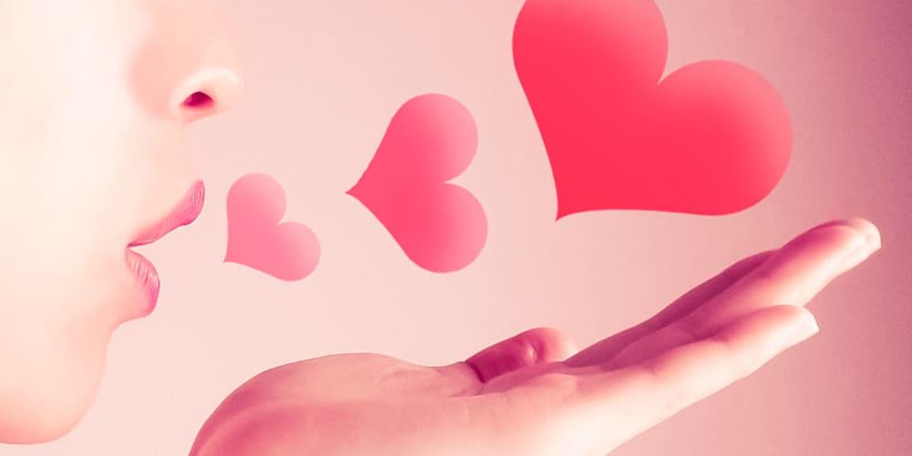 恋する女性のイメージ